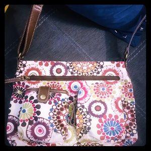 Relic floral crossbody purse